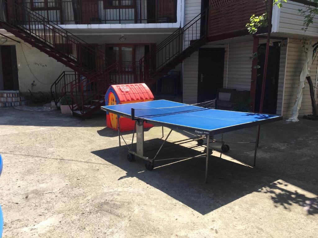 Настольный теннис в Guest House Kristina или поблизости