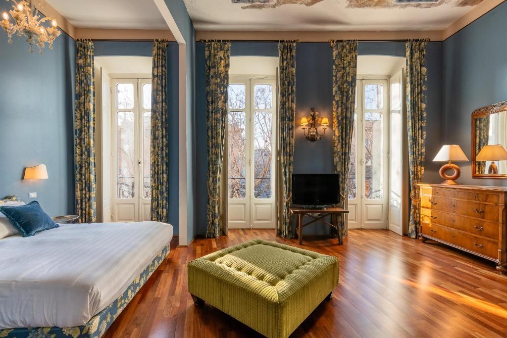 Area soggiorno di Bellezza Suites