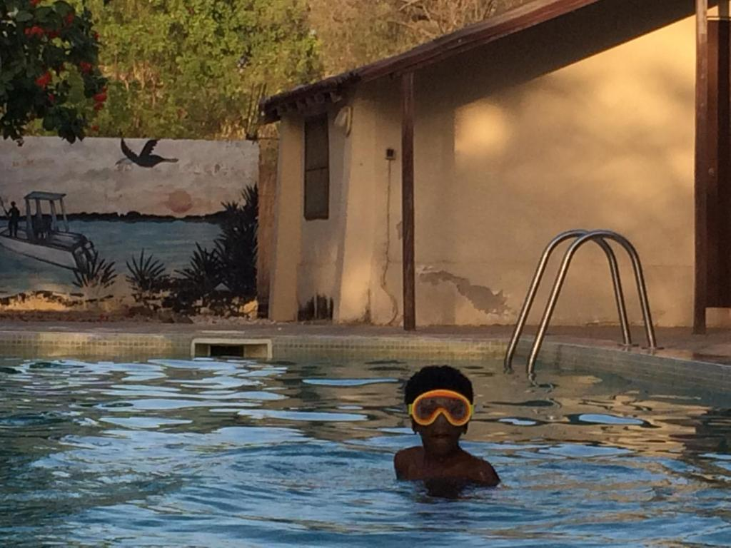 The swimming pool at or near Africa Strike