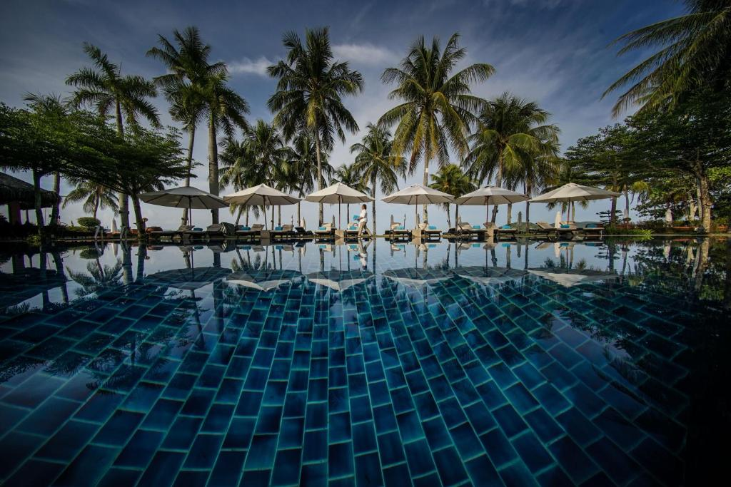The swimming pool at or near Casa del Mar Langkawi