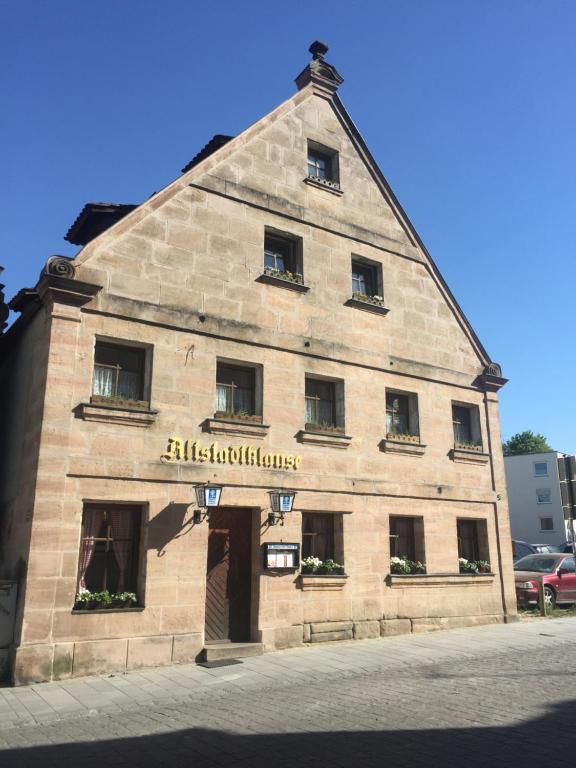 Altstadtpension Zirndorf im Winter