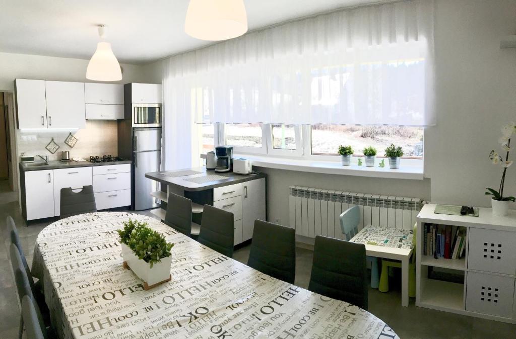 Kuchnia lub aneks kuchenny w obiekcie Apartament Melisa