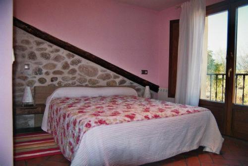 Cama o camas de una habitación en Los Espinares