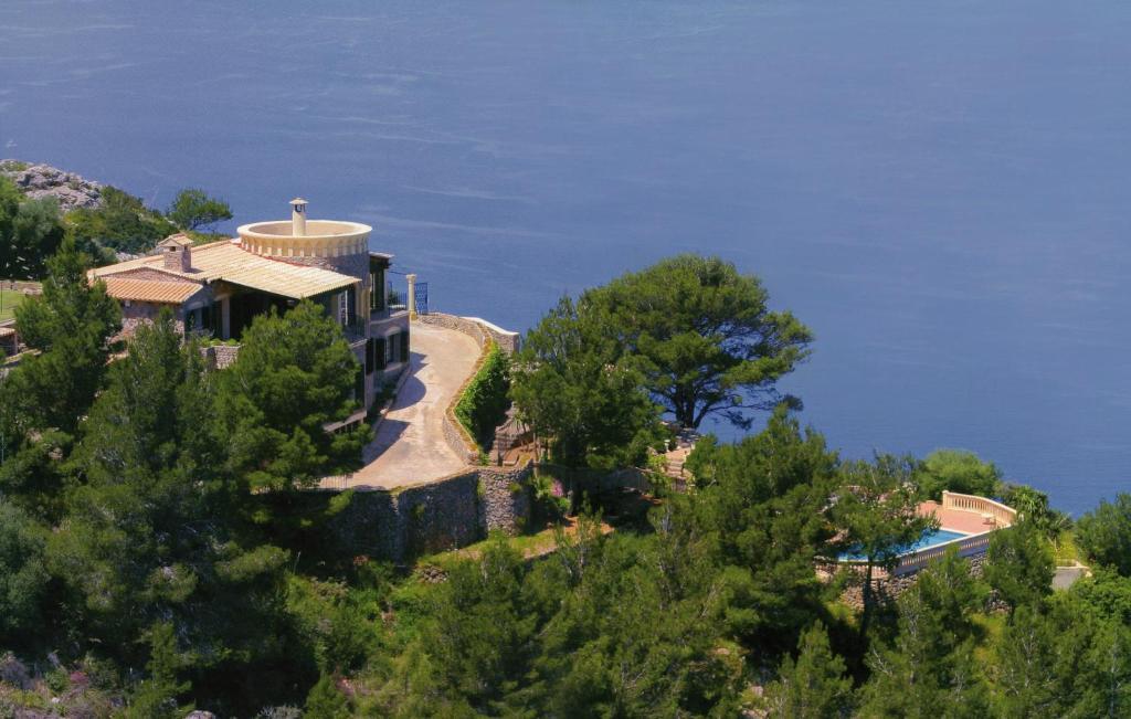 Widok z lotu ptaka na obiekt Villa Valldemossa
