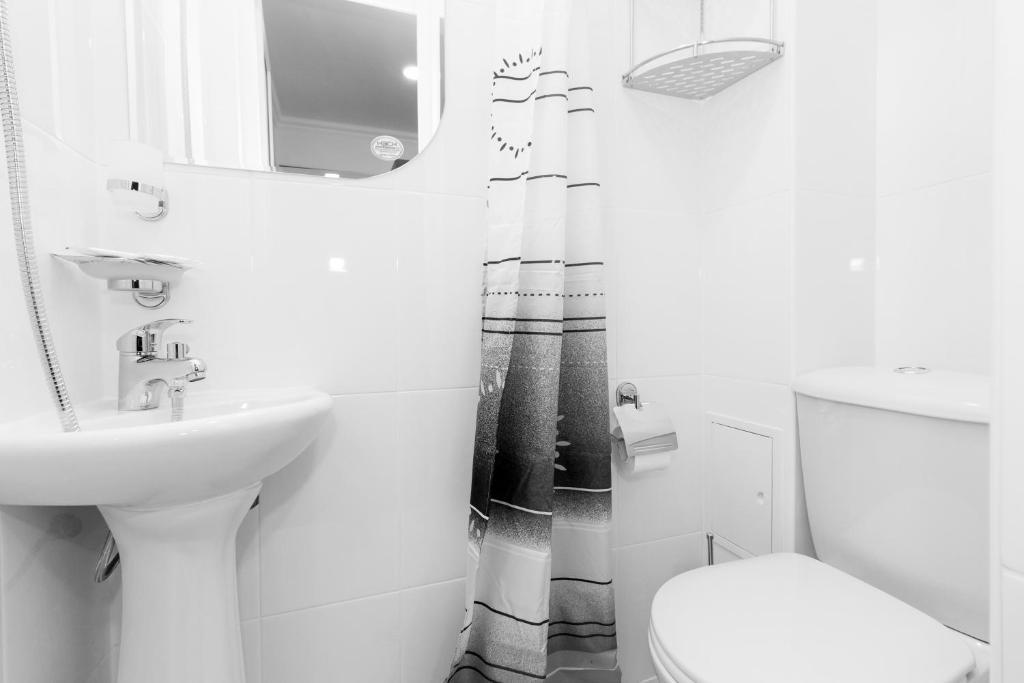 Ванная комната в Отель Атрия