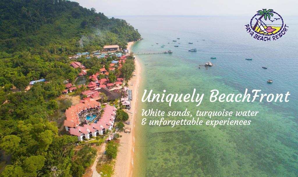 A bird's-eye view of Paya Beach Spa & Dive Resort