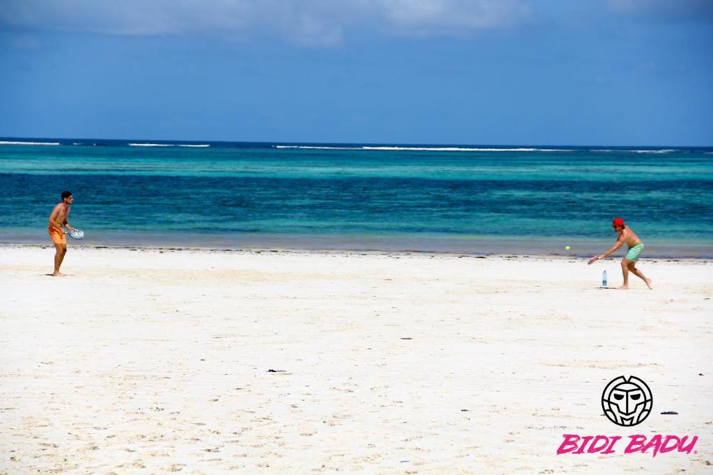 A beach at or near the hostel