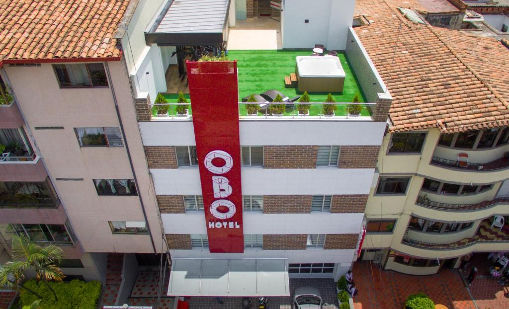 A bird's-eye view of Obo Hotel