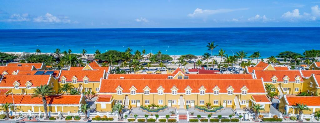 A bird's-eye view of Amsterdam Manor Beach Resort