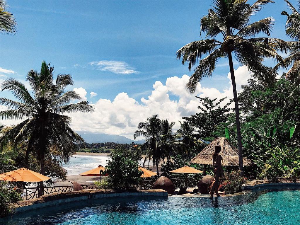 The swimming pool at or close to Puri Dajuma Villas
