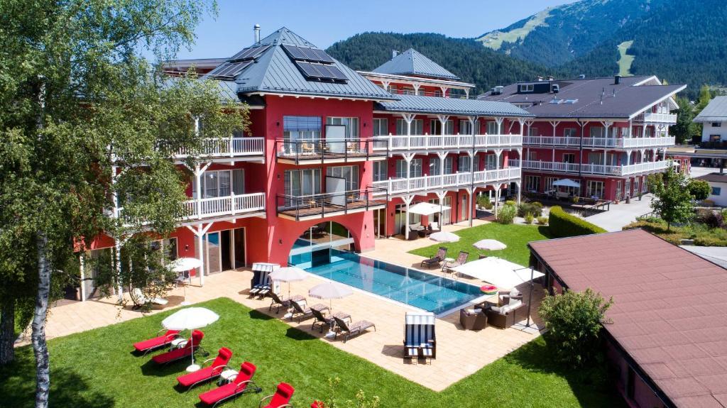 Das Hotel Eden Seefeld in Tirol, Austria