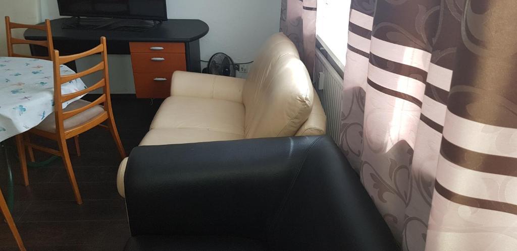 Ein Sitzbereich in der Unterkunft Ferienwohnung Maj