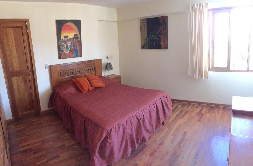 Cama o camas de una habitación en La Casa de Ingrid