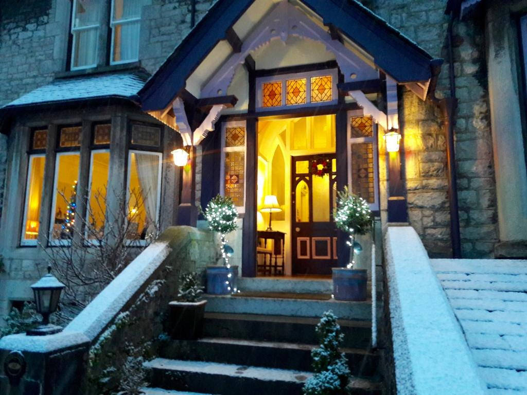 Grange Boutique Hotel during the winter