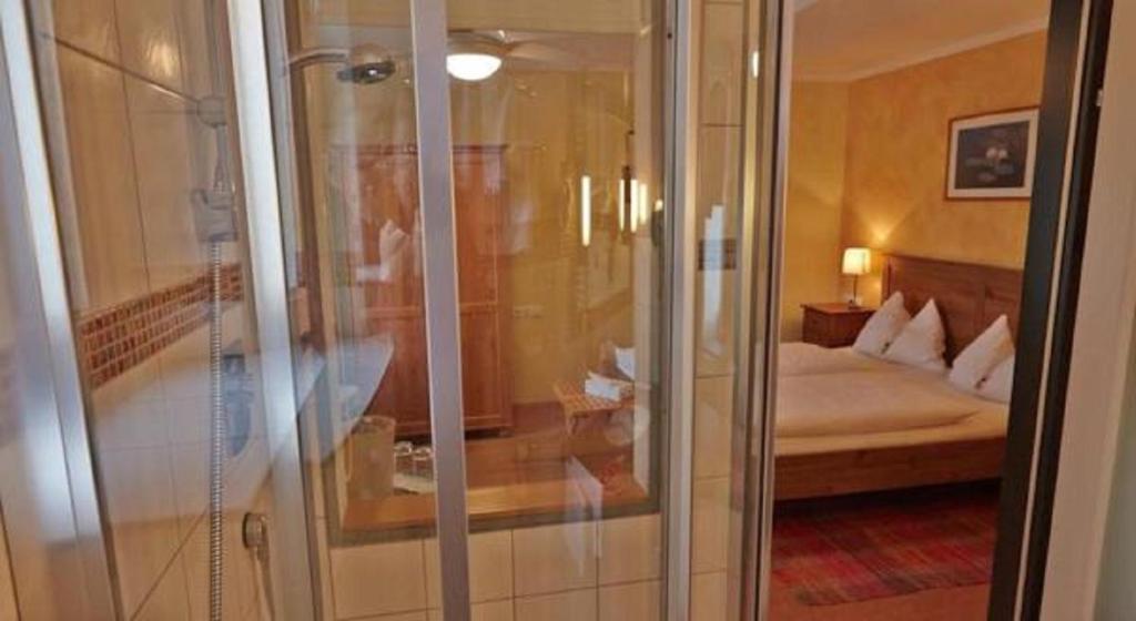 Ein Badezimmer in der Unterkunft Itzlingerhof Rooms