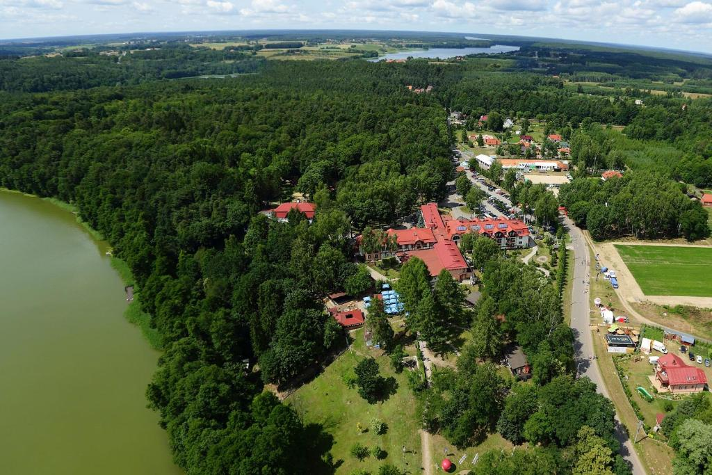A bird's-eye view of Hotel Anders