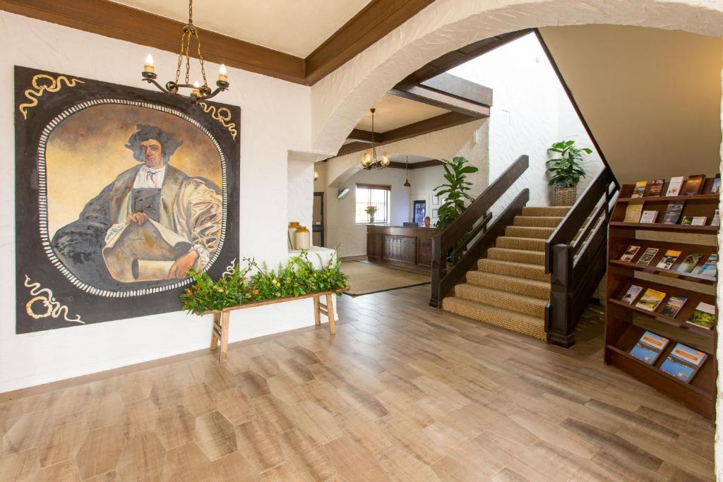 The lobby or reception area at The Matador