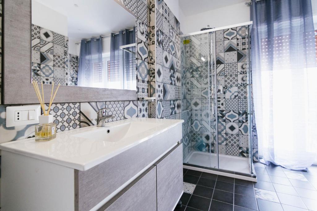 Salle de bains dans l'établissement Spaghetti House