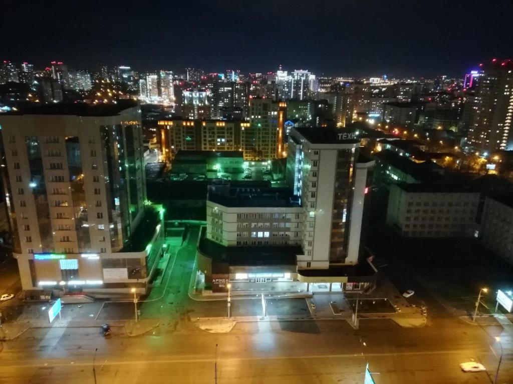A bird's-eye view of Apartment Finika4 on Frunze 49/1