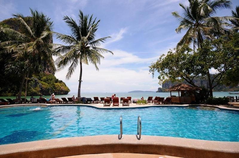 The swimming pool at or near Railay Bay Resort & Spa