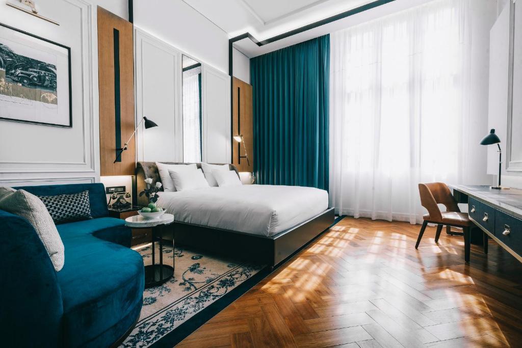Yangon Excelsiorにあるベッド