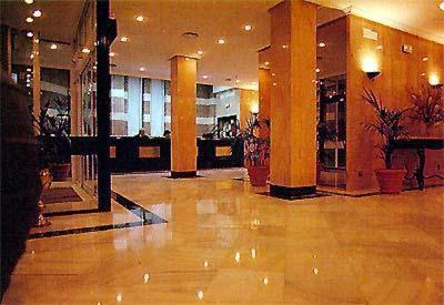 The lobby or reception area at Nova Roma