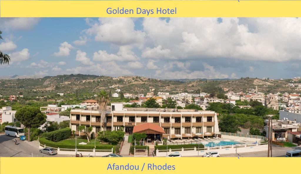 A bird's-eye view of Golden days
