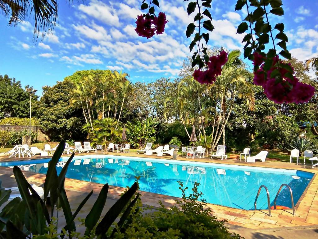 The swimming pool at or near Praia Sol Hotel
