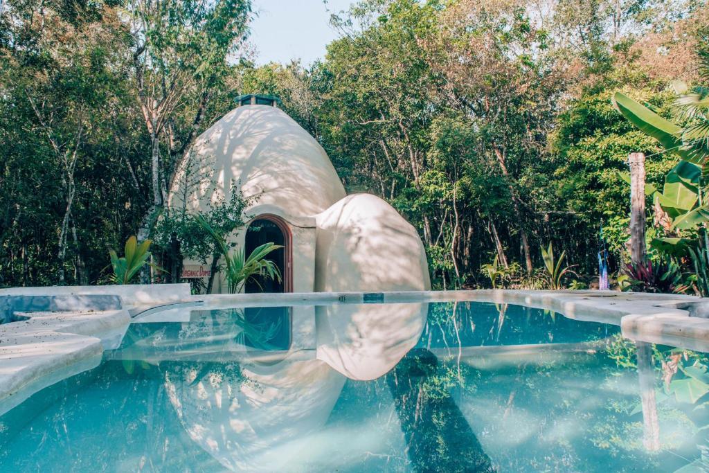 The swimming pool at or near Villa Duendes Akumal