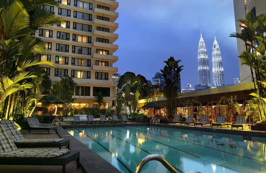 The swimming pool at or near The Federal Kuala Lumpur