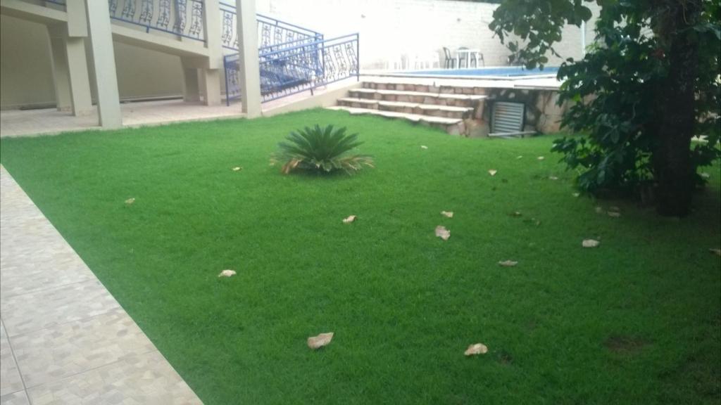 Jardín al aire libre en Estalagem do Carmo