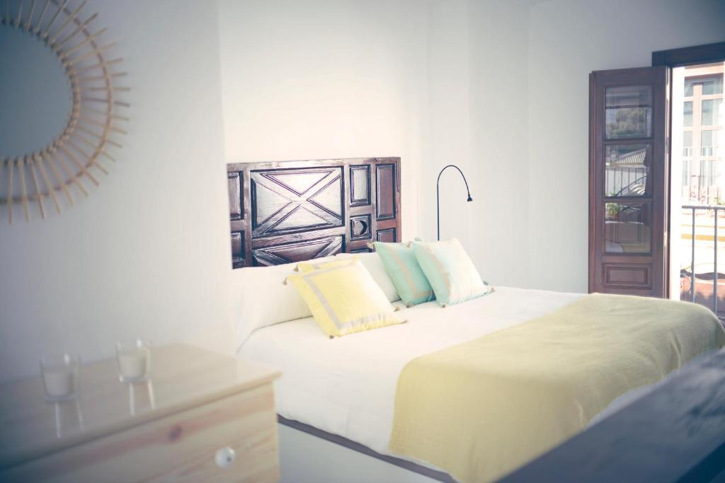 Cama o camas de una habitación en Duplex Relax Ronda