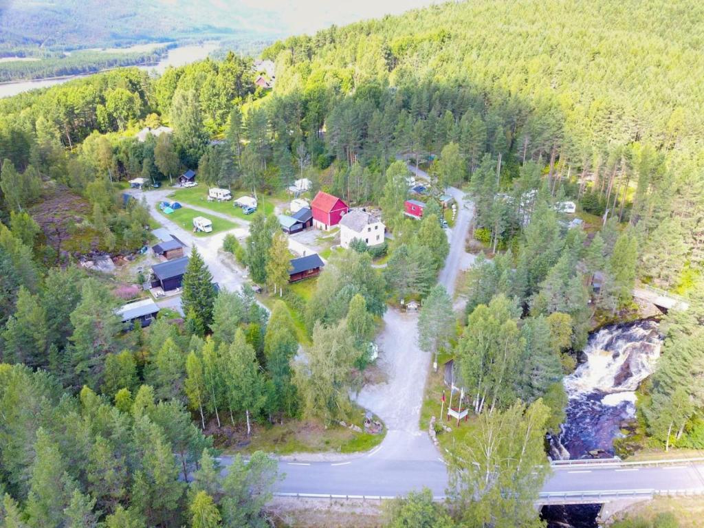 A bird's-eye view of Oddestemmen Camping