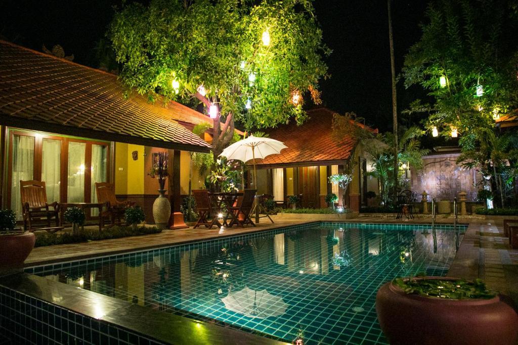 The swimming pool at or near Westkey Kamala Villa