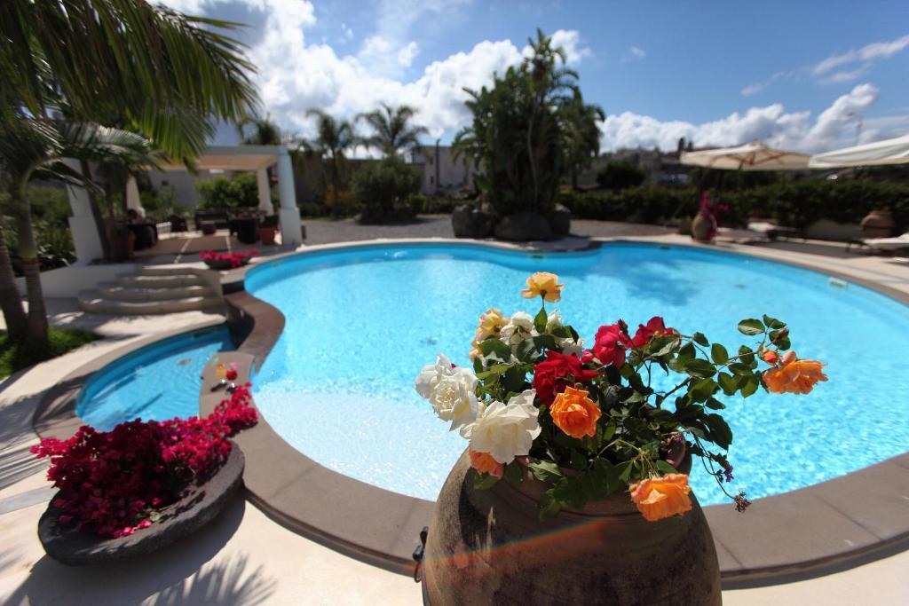 The swimming pool at or near Residence Hotel La Giara