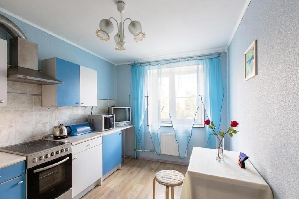 Кухня или мини-кухня в Апартаменты на Турку