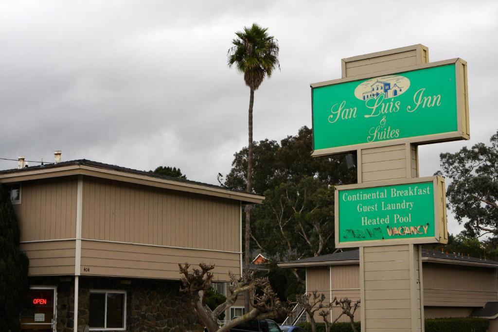 The San Luis Inn & Suites.