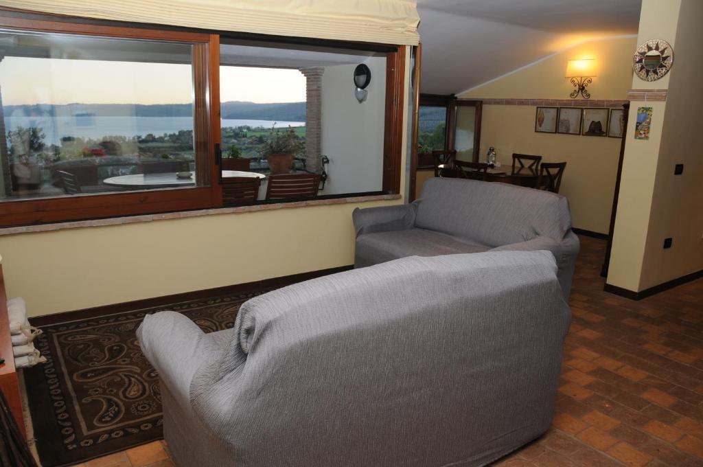 Area soggiorno di Appartamento Sabatinus