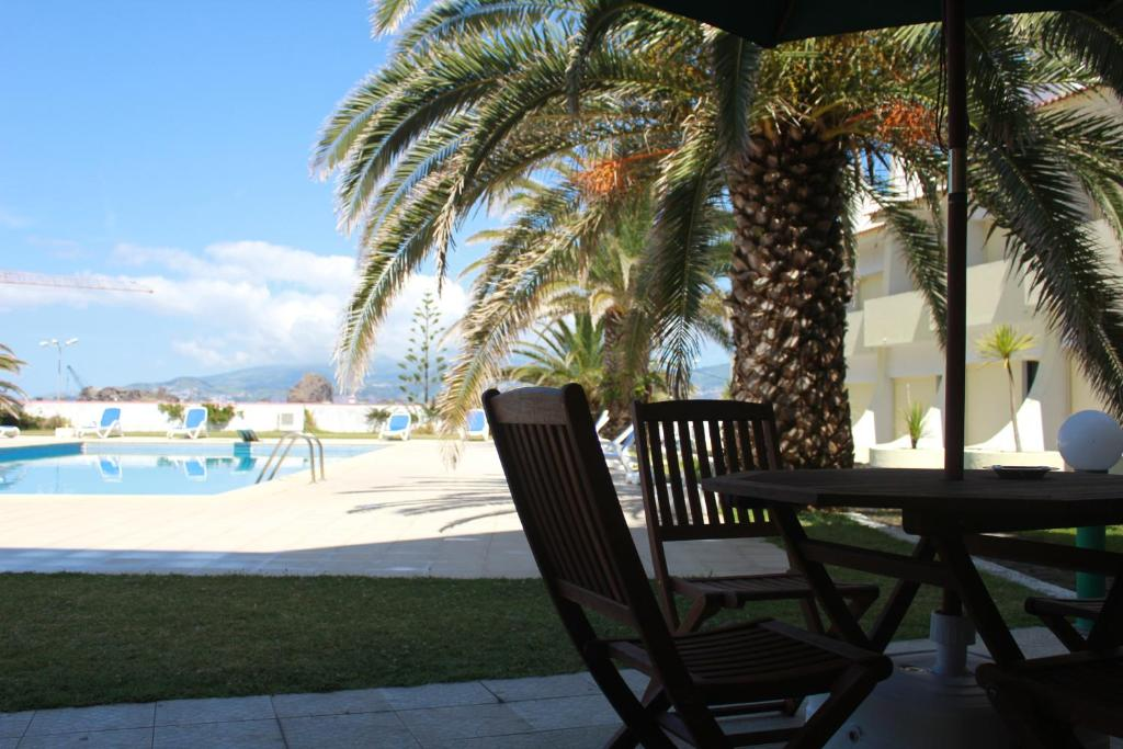 A piscina em ou perto de Hotel Caravelas