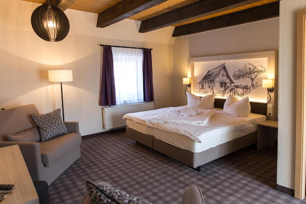Muhlenhof Hotel und Restaurant Wusterhausen, Germany