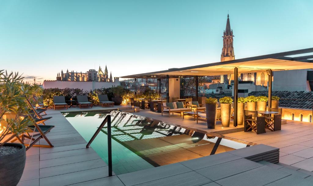 The swimming pool at or near Sant Francesc Hotel Singular
