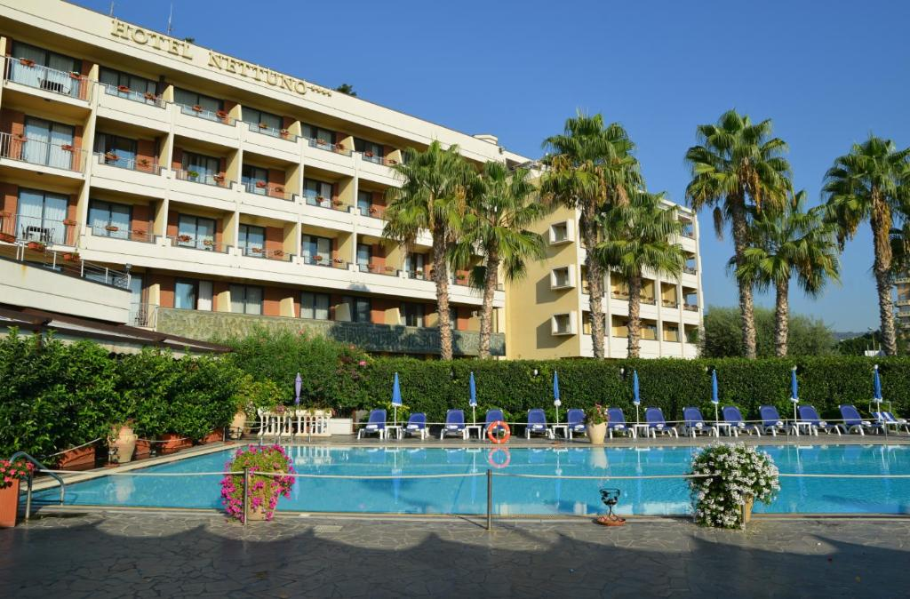 The swimming pool at or near Hotel Nettuno