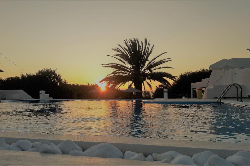The swimming pool at or near Faros Villa