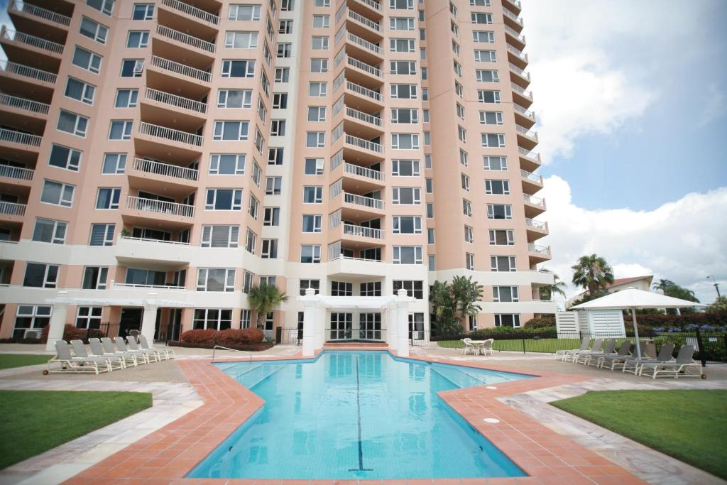 The swimming pool at or near Belle Maison Apartments - Official