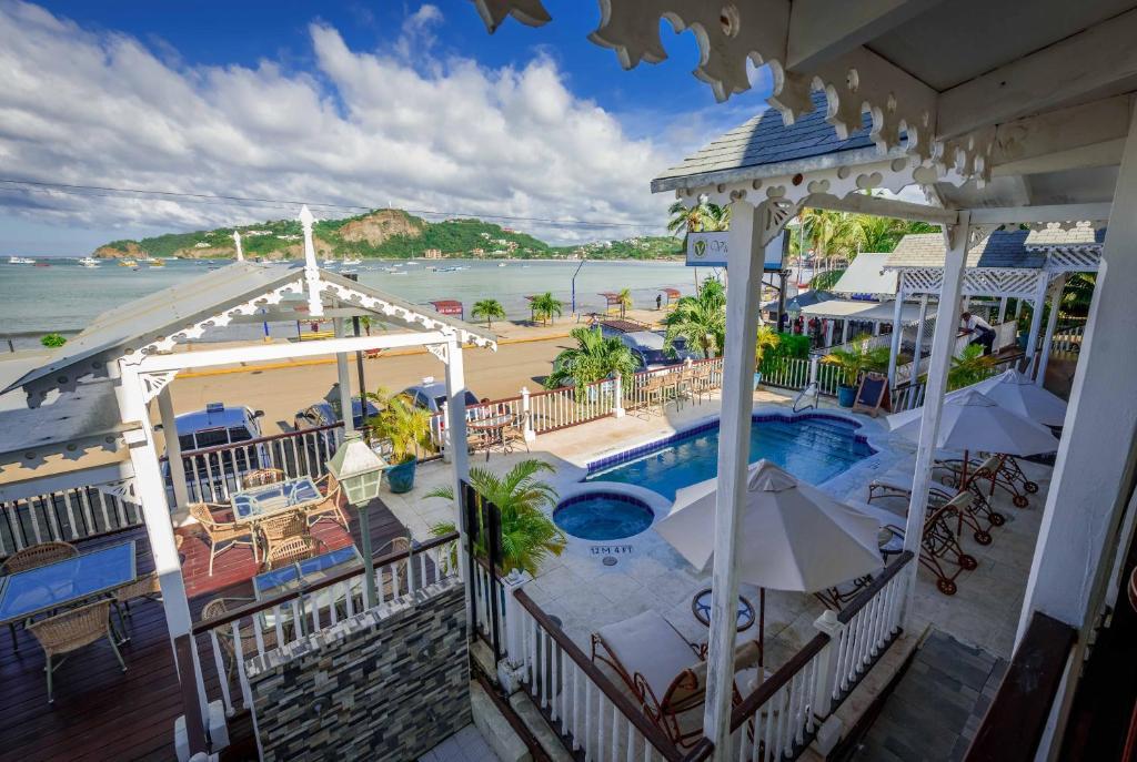 Vista de la piscina de Hotel Victoriano o alrededores