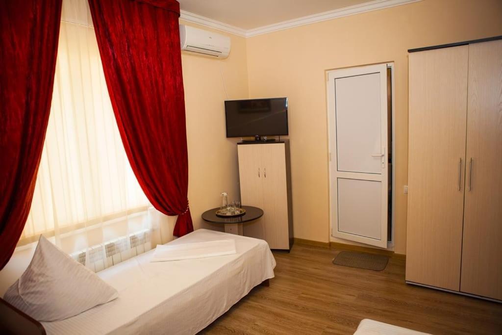 Кровать или кровати в номере Guest House Veronika