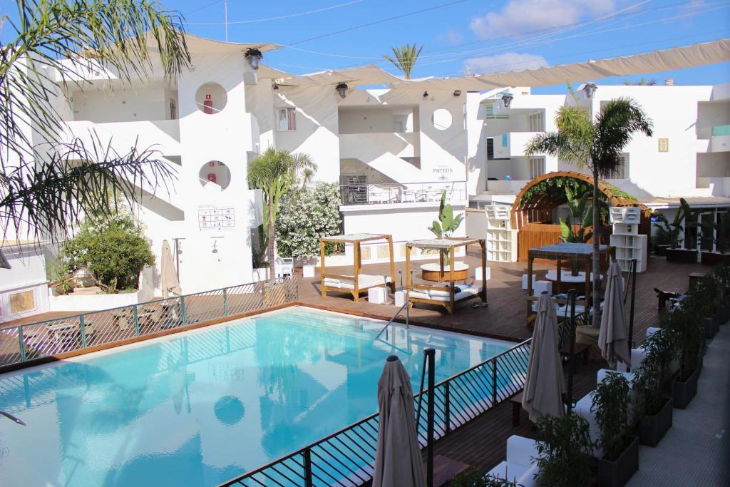 The swimming pool at or near Apartamentos Bora Bora - Adults Only