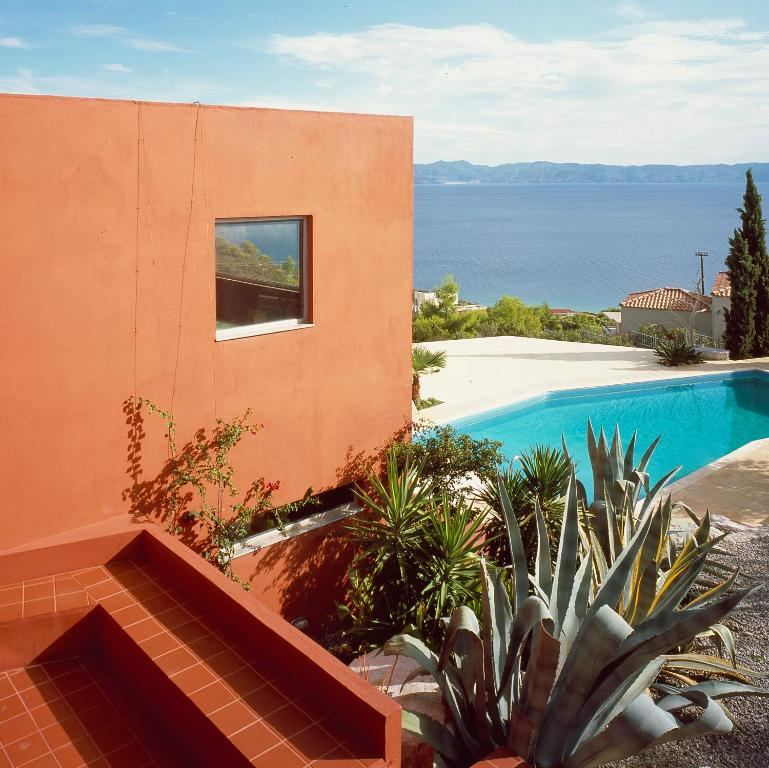 Villa With Swimming Pool And Tennis Basketball Court Theológos Updated 2021 Prices