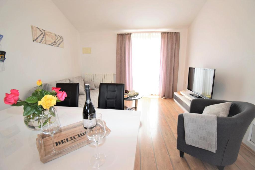 Area soggiorno di Apartment Vita