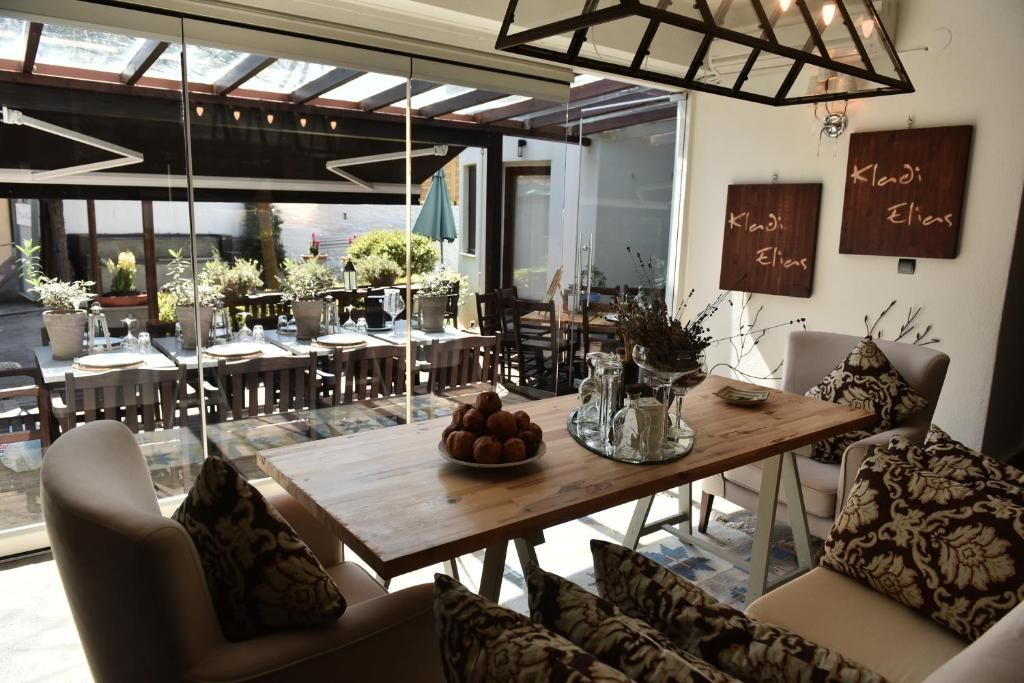 Εστιατόριο ή άλλο μέρος για φαγητό στο Culinary Boutique Hotel Kladi Elias